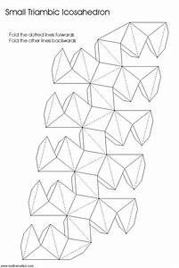 46 best 3d geometric box templates images on pinterest With geometry net templates