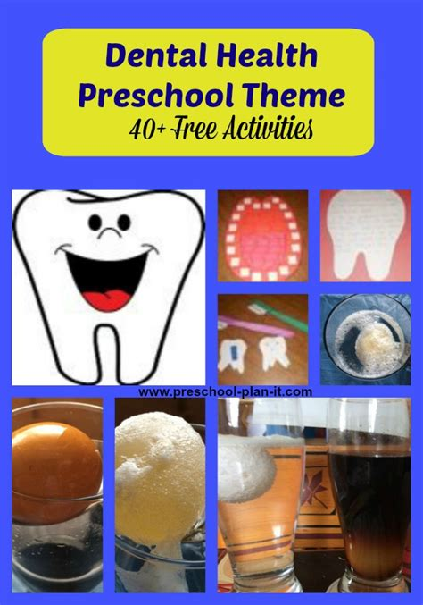 dental health theme  preschool