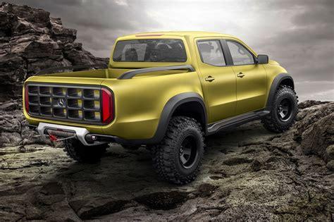 mercedes class pickup truck concept hypebeast
