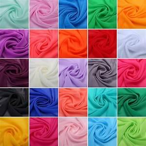 Stoffe Günstig Kaufen : chiffon stoffe deko stoff kleidung meterware neu ebay ~ Orissabook.com Haus und Dekorationen