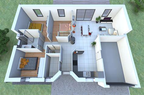 plan de maison contemporaine 4 chambres plan maison moderne 5 chambres 9 plans maison ardoise