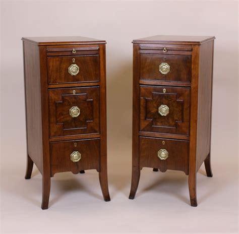mahogany bedside cabinets pair of 1920 s mahogany bedside cabinets antiques atlas 3942