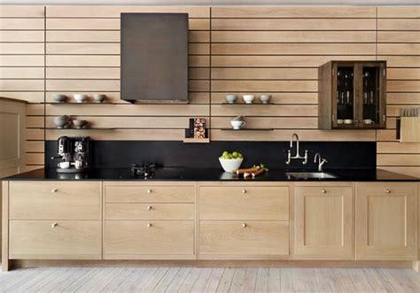 cuisine en bois brut renovation meuble cuisine bois deco maison moderne