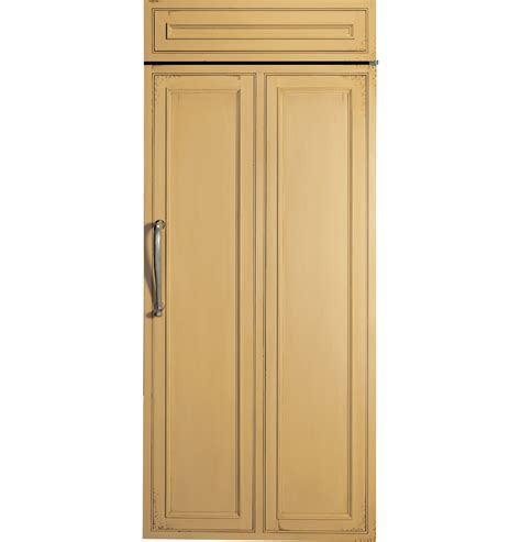 zirnhrh monogram  built   refrigerator  refrigerator upright freezer