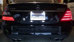 How To Install Facelift Led Tail Lights 2010  W221