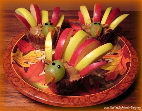healthy turkey treats fun family crafts