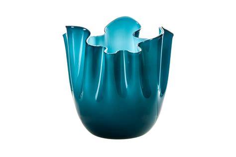 vasi venini venini vaso fazzoletto vetro di murano opalino orizzonte e