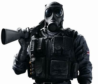 Smoke Siege Operator Rainbow Six Ubisoft Agent