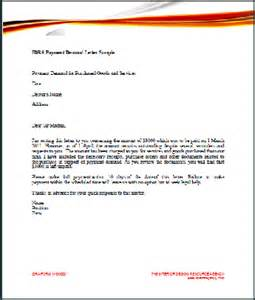 post formal demand for payment letter