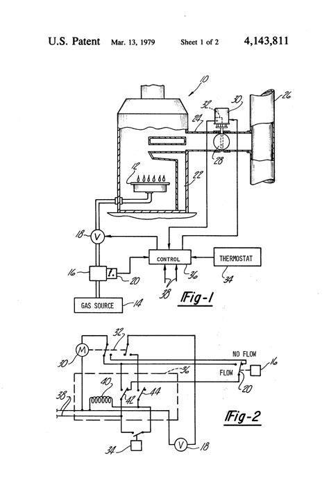 Patent Gas Flow Controlled Furnace Flue Damper