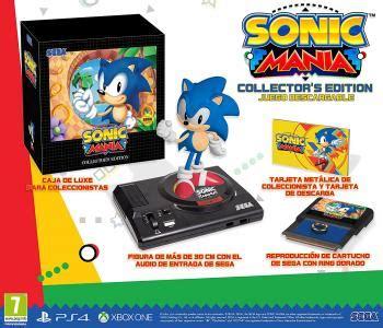 Posición nombre del producto precio marca. Sonic Mania, Collectors Edition para PlayStation 4 :: Yambalú, juegos al mejor precio