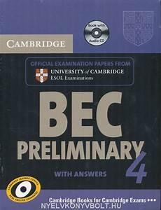 Cambridge BEC Preliminary 4 Official Examination Past ...