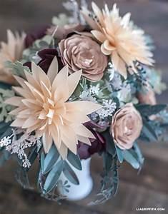 DIY Rustic Paper Bridal Bouquet Lia Griffith