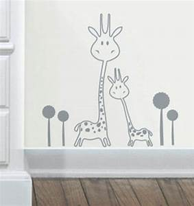 vinyl wall decal removable giraffe wall sticker baby With kitchen colors with white cabinets with removable wall stickers for baby room