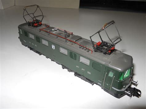 m 228 rklin h0 3337 electric locomotive ae 6 6 sbb cff