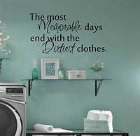 laundry room wall decor Laundry room decor wall art matt vinyl decal laundry