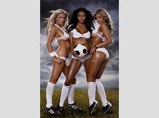 Soccer is a Girls Game OfficialManCardcom