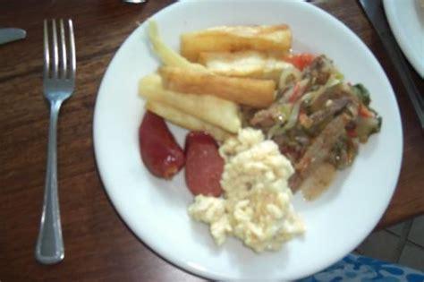 mi plato de comida uuuuuhm picture of san andres island