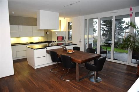 Küche Mit Kochinsel Kochinsel Mit Integriertem Esstisch