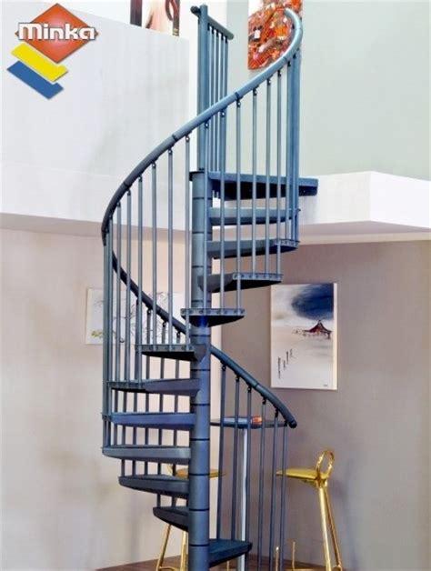 escalier h 233 lico 239 dal minka rondo color anthracite 216 120 cm