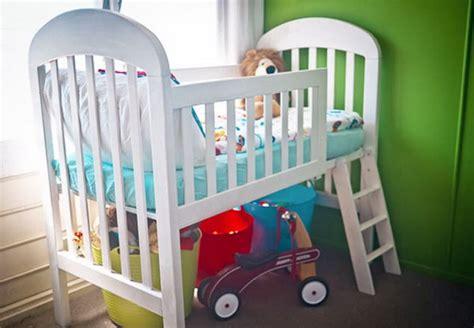 creative  crib repurpose ideas