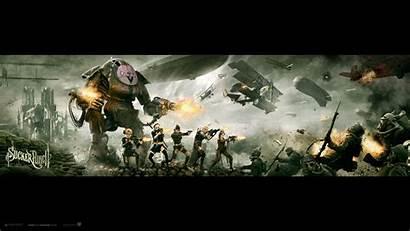 Punch Sucker Action Wallpapers Desktop Gang Suckerpunch