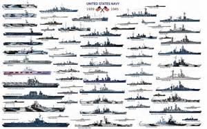WWII US Navy Ships WW2