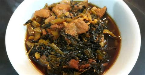 Daging ayam cuci bersih dan potong dadu, kemudian rendam menggunakan air perasan jeruk nipis. 84 resep babi kecap sayur asin enak dan sederhana - Cookpad