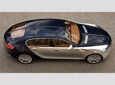 Bugatti Chiron FourDoor Rendered as the Sedan Bugatti CEO