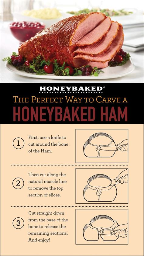 Cooking School Four Ham by How To Slice And Serve A Spiral Sliced Glazed
