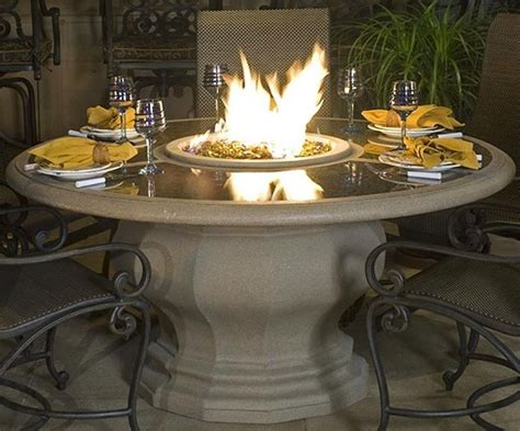 12 Best Fire Pit Dining Tables Images On Pinterest