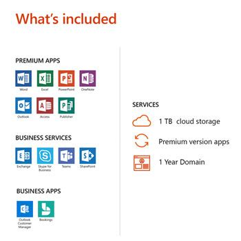 Office 365 Year by Microsoft Office 365 2019 1 Year 1 User Business Premium
