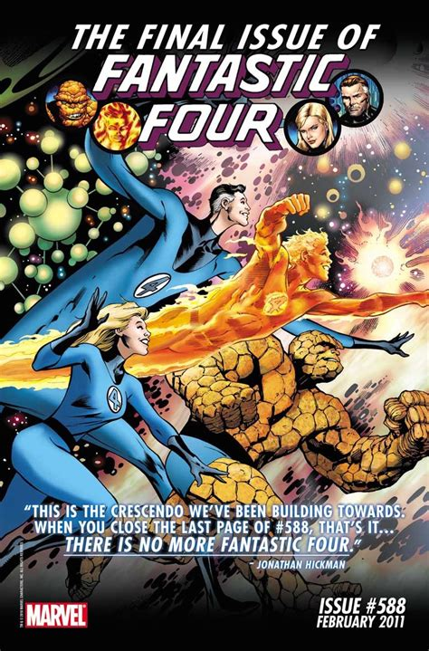 Fantastic Four Comics Return to Marvel; Is a Movie Next?
