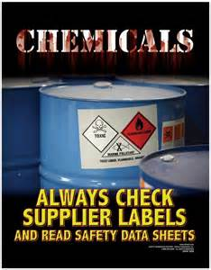Now In: Chemical Safety Posters → Safety Poster, Chemical Safety ... Chemical Safety