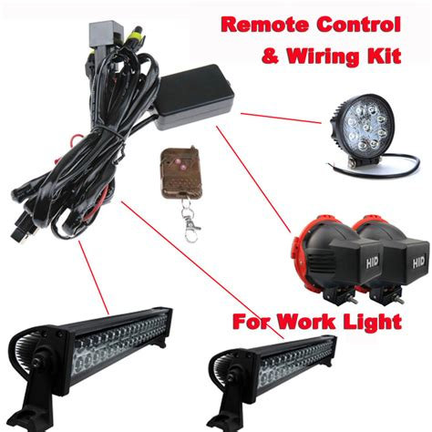 Wiring Harness Remote Control Kit For Led