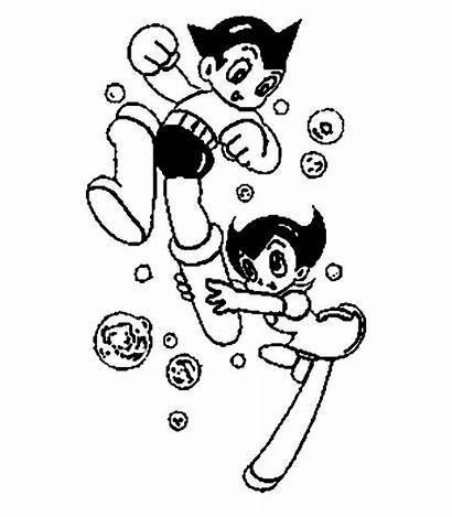 Astro Boy Coloring Astroboy Colorir Colorear Desenho