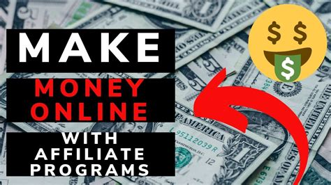 How To Make Money Online With Affiliate Programs:🤑Easily ...