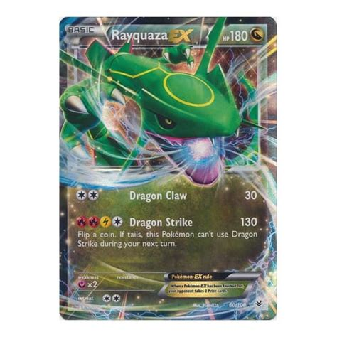 Rayquaza Ex Deck Roaring Skies by Xy Roaring Skies 060 108 Rayquaza Ex From Magic