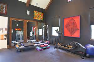 Home Gym Wall Color Ideas