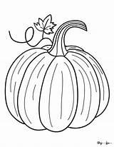 Coloring Pumpkin Realistic Skip Lou Cardinvitations Cyou sketch template