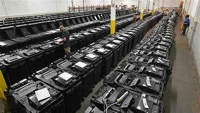 Voting Dominion Machines Pennsylvania Counties