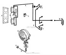 Simplicity 1600258 - 410  10hp 3-speed Gear Parts Diagram For Electrical Group