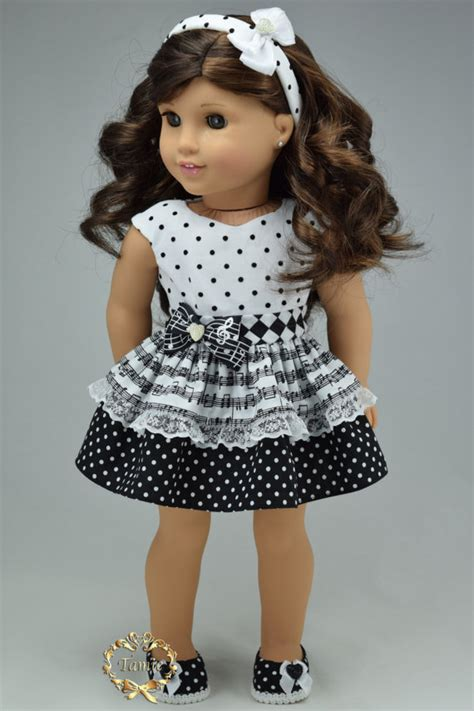 american doll clothes quot special occasion quot ooak 3 pieces items dress headband shoes