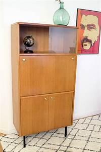 Secrtaire Bureau Vintage Annes 60 Style Pierre Guariche