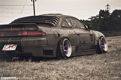 nissan silvia stance that one nissan s14 stance nation form gt function