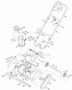 Troy-bilt 31a-050-766 Parts List And Diagram