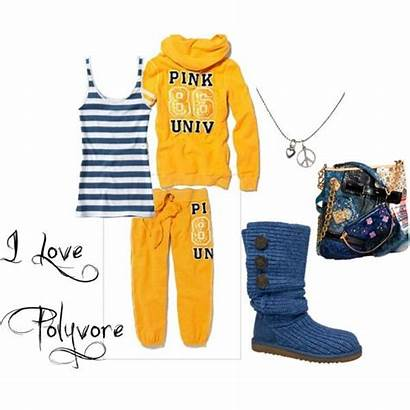 Polyvore Sporty Outfits Outfit Relaxed Created Casual