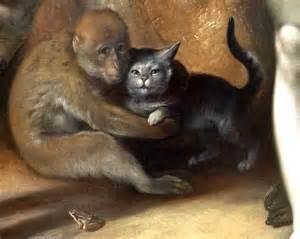 monkey cat file cornelis cornelisz haarlem the fall of