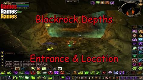 Blackrock Depths Entrance & Location World of Warcraft ...