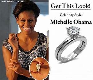 1475 best celebrity wedding rings images on pinterest With michelle obama wedding ring